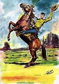 Aurelio Galeppini, disegnatore, è uno dei padri di Tex Willer insieme all'autore G. Luigi Bonelli