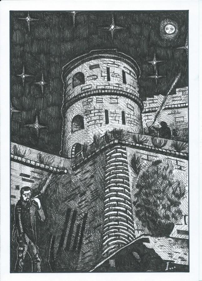 Ancora qualche scorcio di Genova nei disegni di I. Belansky, le fortificazioni