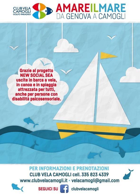 Mare aperto per tutte le persone con disabilità psicosensoriale, uscite in canoa o barca a vela