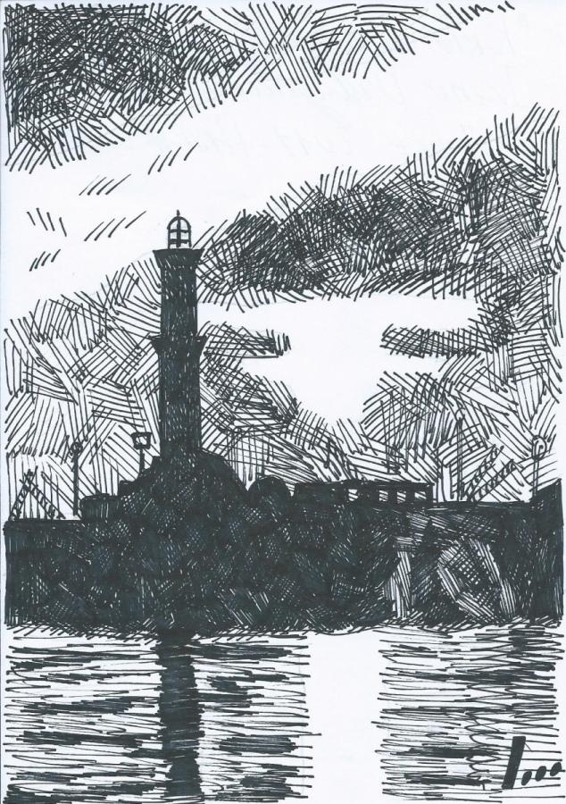 Presentiamo un recente disegno della lanterna di Igor Belansky