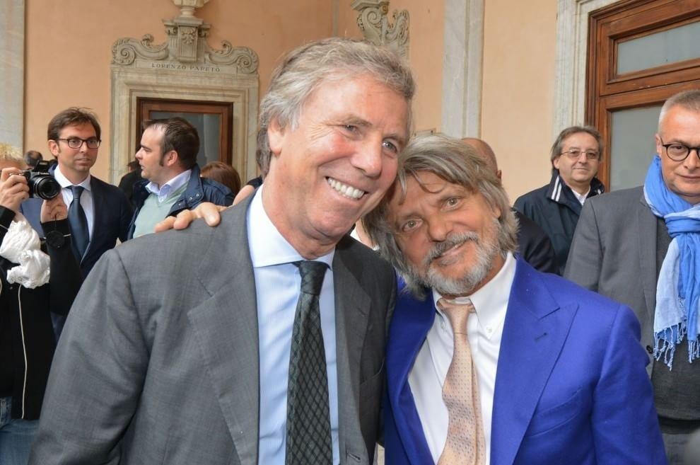 La conferma della Sampdoria e il nuovo capitombolo del Genoa notte per il Grifo