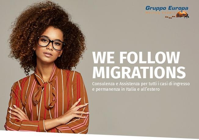 In franchising con una rete di consulenti che si occupano di migrazione e di viaggi