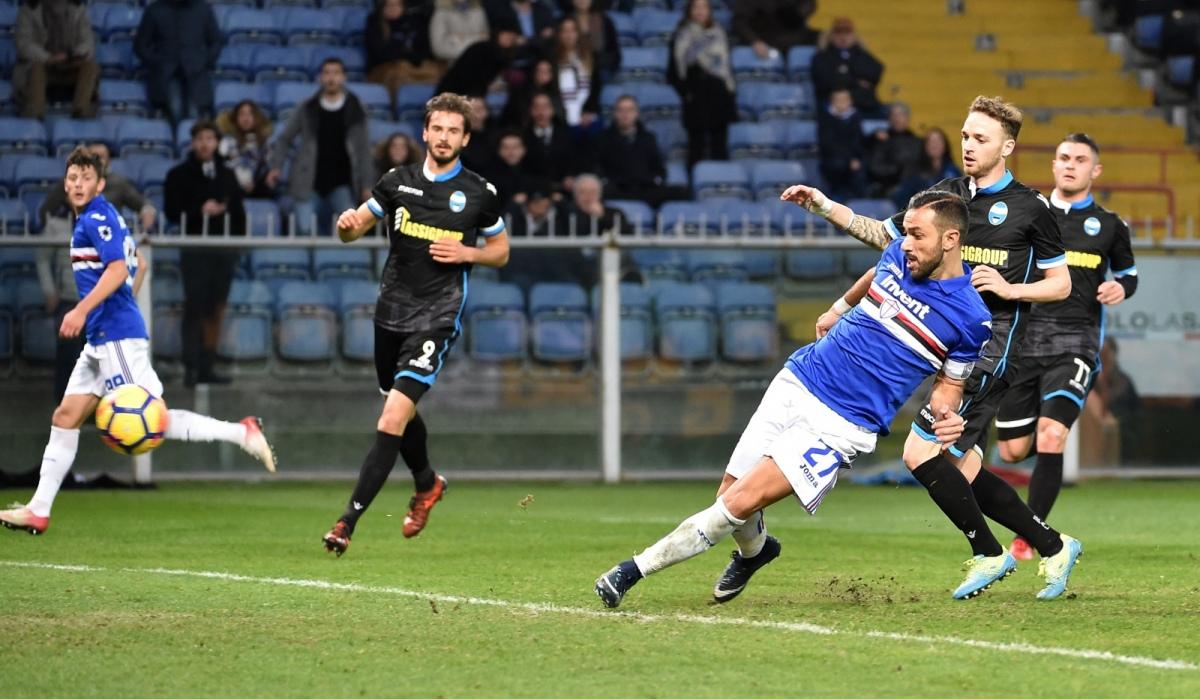 Sampdoria con molto coraggio e con un po di fortuna Genoa in crescendo