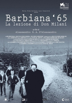 Barbiana '65, cinema Cappuccini la lezione al mondo di don Milani