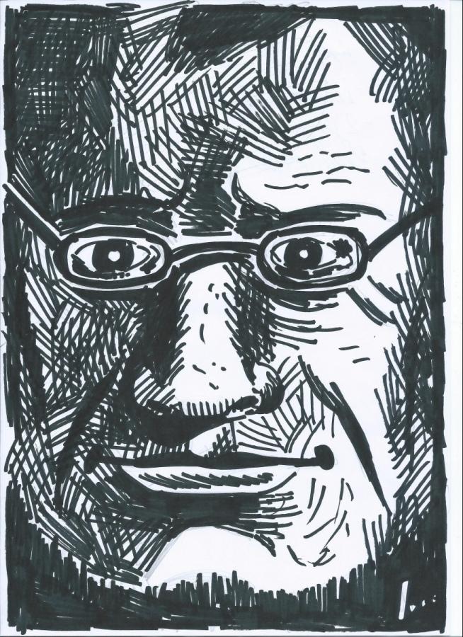 Igor Belansky propone una personale immagine di Camillo Benso di Cavour