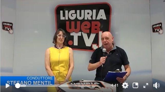 Gabriella Oliva intervistata su Liguriaweb.tv. La scultrice si racconta a Stefano Mentil