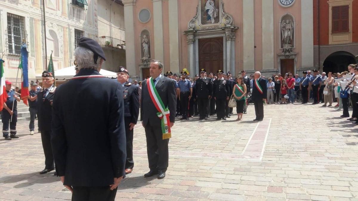 Un redazionale di Antonio Rossello sulla festa dell'Arma dei Carabinieri