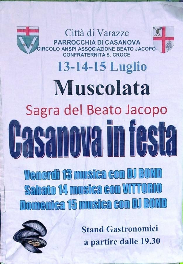 Casanova in festa, dal 13 al 15 luglio. La tradizionale Sagra del Beato Jacopo