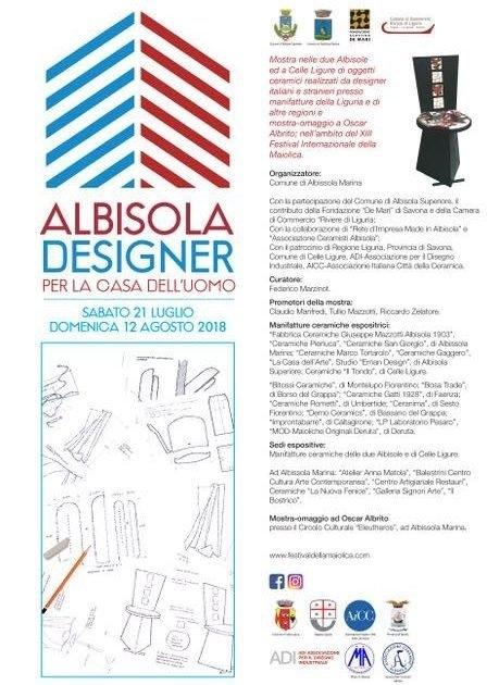 «Albisola designer», la ceramica nel design. Federico Marzinot è il curatore dell'evento