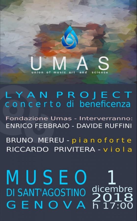 C'è attesa per la presentazione di Umas. 1° dicembre presso Museo Sant'Agostino