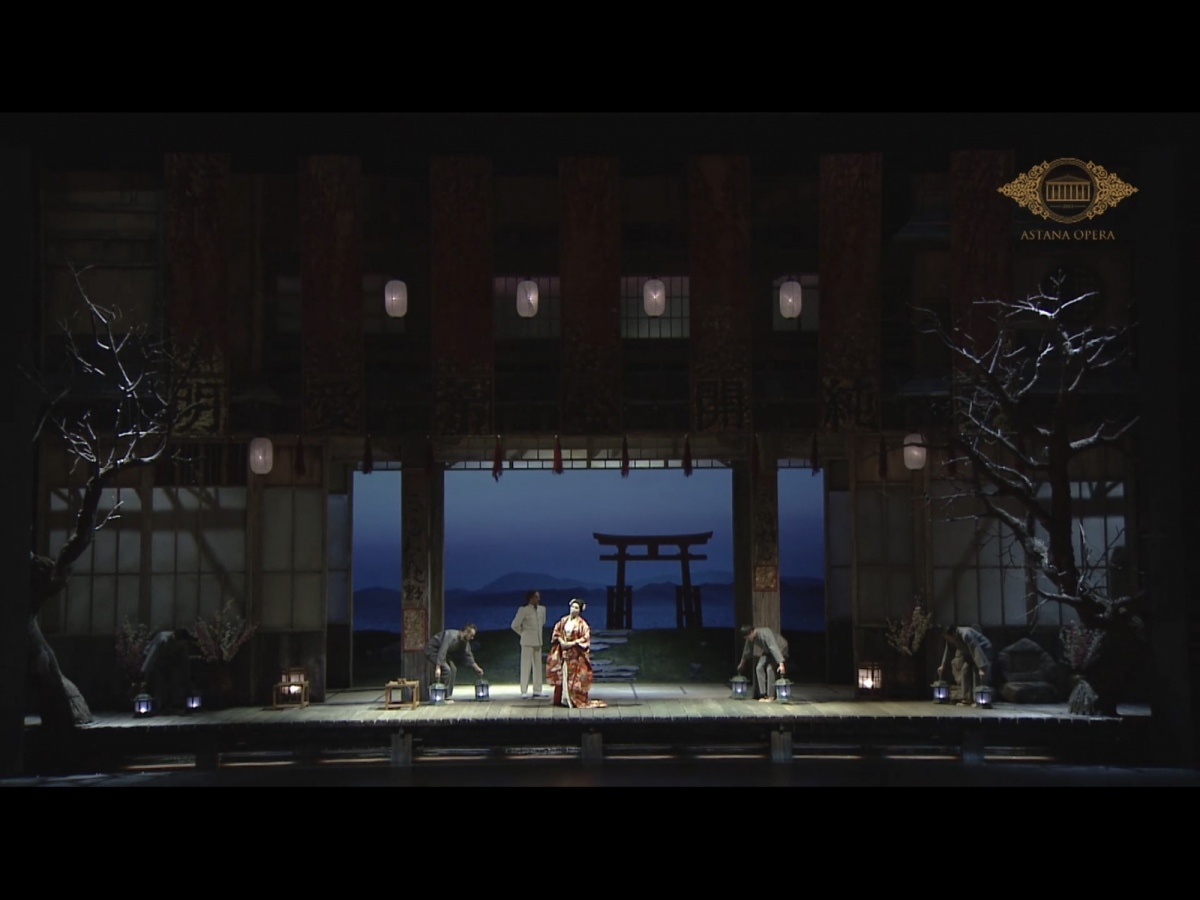 Grande Madama Butterfly al Carlo Felice nell'allestimento del teatro Astana Opera