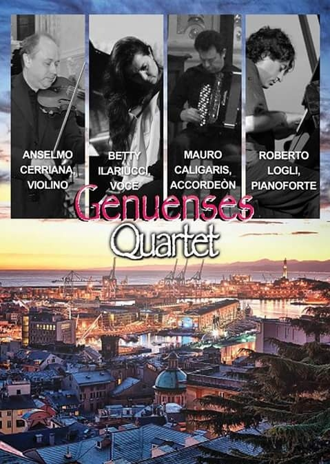 Locandina Genuenses Quartet