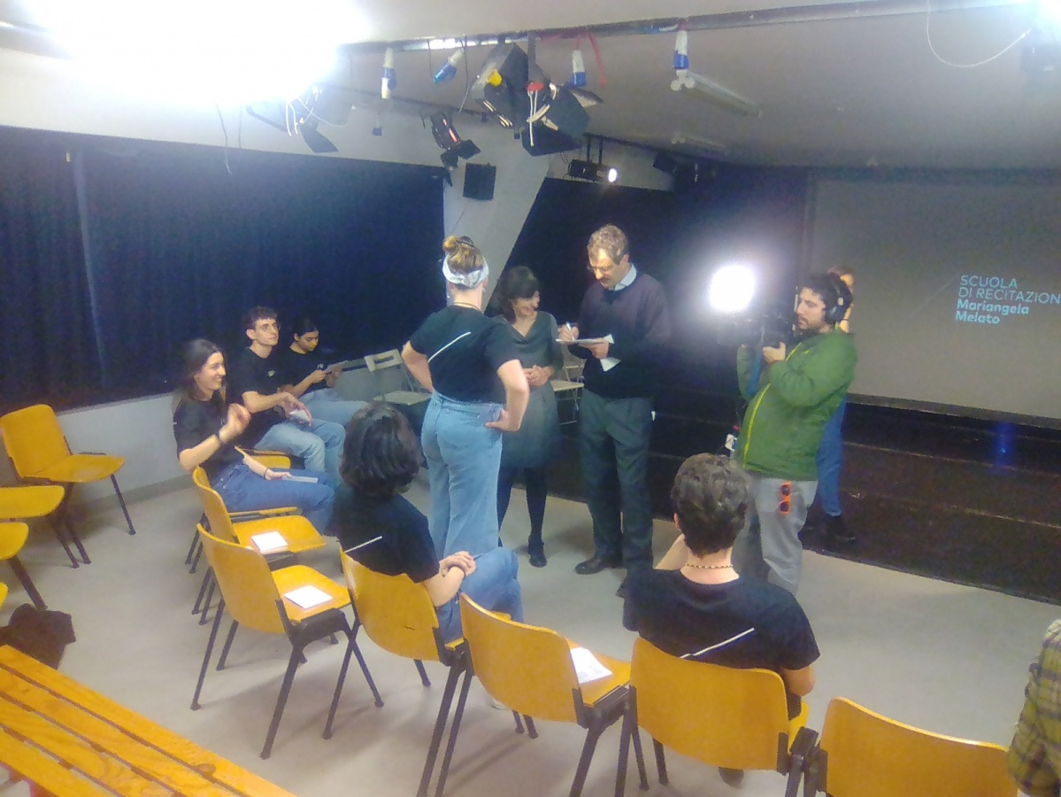 Si apre il nuovo anno accademico per 17 ragazzi alla Scuola di recitazione Mariangela Melato