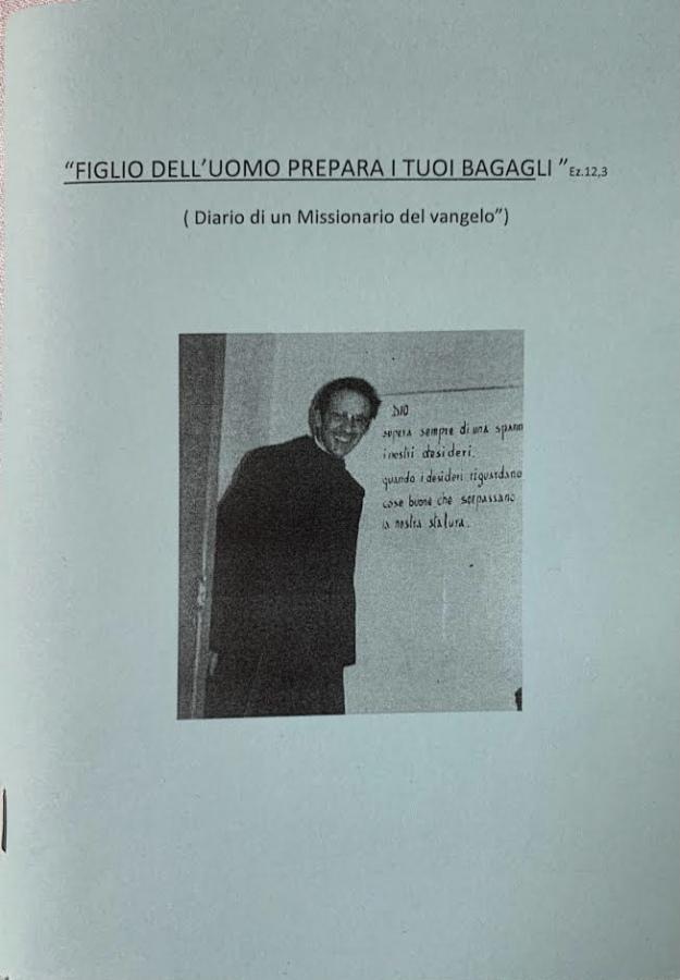 P. Luigi Kerschbamer missionario: le Lettere. Prima lettera di P. Luigi: racconto degli inizi