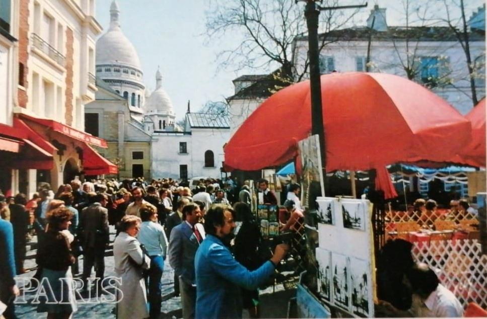 Alcune foto di una settimana a Parigi nel novembre del 1984 con il camper